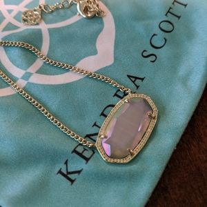 Kendra Scott Iridescent Slate Dylan Necklace